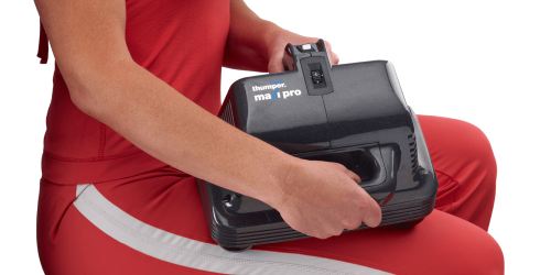 Maxi Pro is designed to direct 95% of its energy into the patient's muscles, assuring virtually no feedback on the hands.